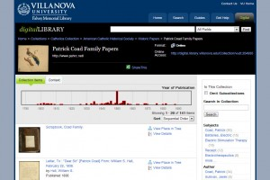 Coad Family Papers - Villanova Digital Library